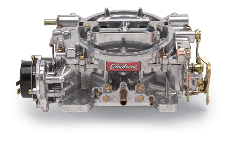 EDELBROCK PERFORMER SERIES 600 CFM CARBURETOR, SQUARE FLANGE, ELECTRIC  CHOKE (NON-EGR)- SATIN FINISH - 1406