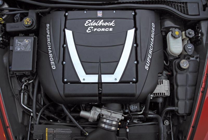 Edelbrock E Force 657hp Complete Supercharger System With