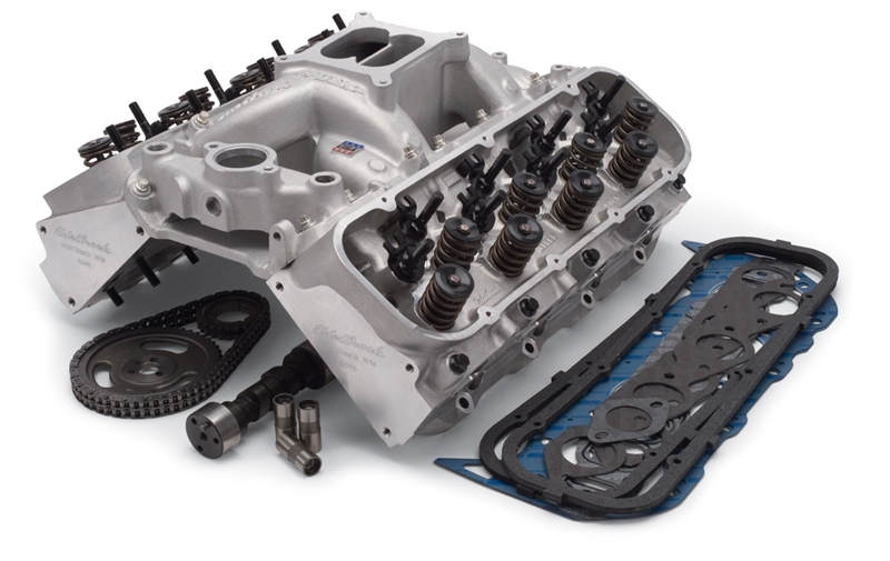 EDELBROCK RPM FOR 396-454 B/B CHEVY (1995 & EARLIER) POWER PACKAGE TOP END  KIT- 540HP & 539 FT/LBS - 2095
