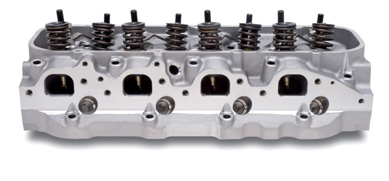 EDELBROCK PERFORMER RPM 454-O CYLINDER HEADS FOR B/B CHEVY (COMPLETE,  SINGLE) - 60459