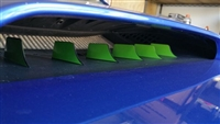 2015+ WRX/STI Hood Scoop Fin Overlays