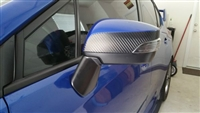 2015+ WRX/STI Side Mirror Rock Chip Protector Overlay Set