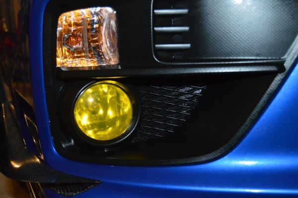2015+ WRX/STI Yellow Fog Light Overlays