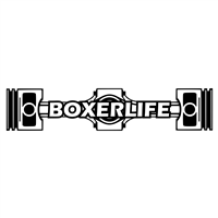 BoxerLife Decal