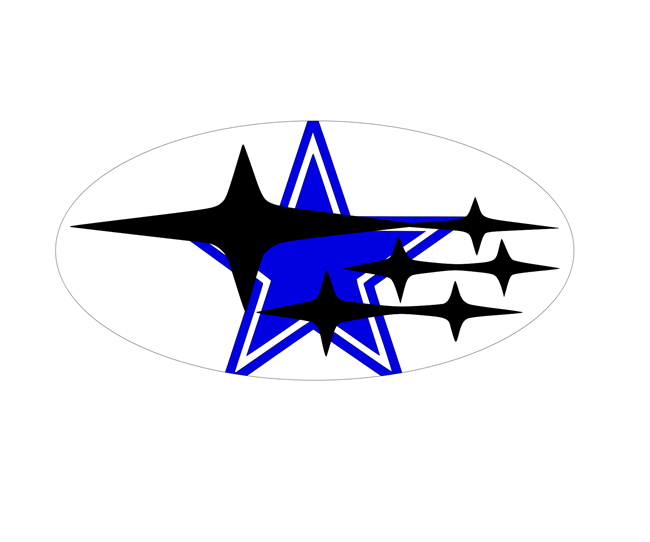 Dallas Cowboys Overlay Set