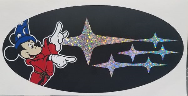 Fantasia Mickey Overlay Set