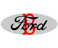 Ford Boston Red Socks Emblem Overlay Set