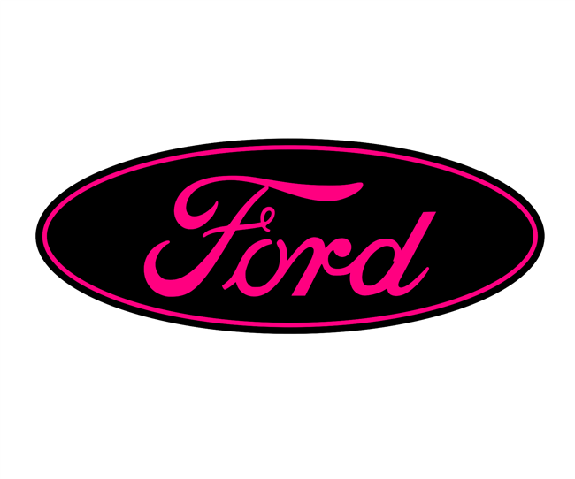 Ford F250-F350 2011-2016 Strokin Overlay Emblem Decal REAR ONLY NO Camera