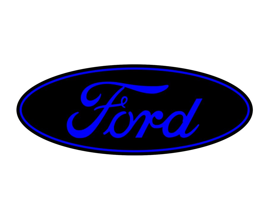 Ford Emblem Overlay Set