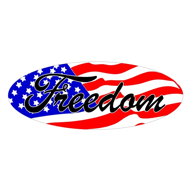 Ford Freedom Flag Overlay Set