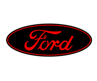Ford Steering Wheel Emblem Overlay