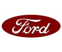 Ford Steering Wheel Emblem Overlay Without Ring
