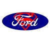 Ford Superman Emblem Overlay Set