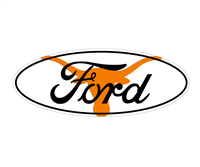 Ford Texas Longhorns Emblem Overlay Set