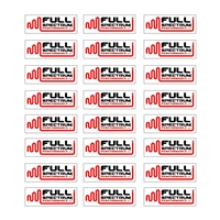 Full Spectrum Performance Product Stickers