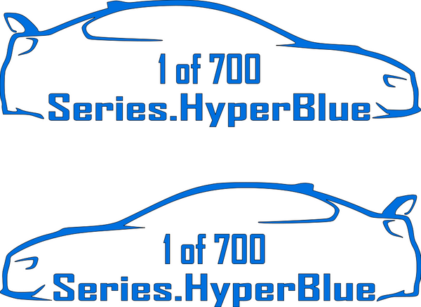 Hyperblue Series 1 of 700 Decal