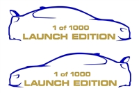 Launch Edition 1 of 1000 Decal