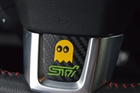 Pac Man 2015+ STI Bottom Steering Wheel Overlay