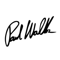 Paul Walker Signature Decal