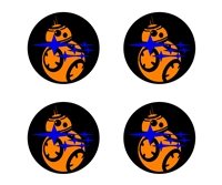 Star Wars BB-8 Universal Center Cap Overlays
