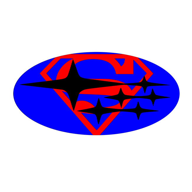 Superman Overlay Set