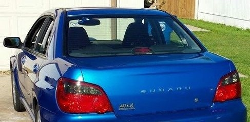 Tail Light Overlays for 04-05 Impreza/WRX/STI