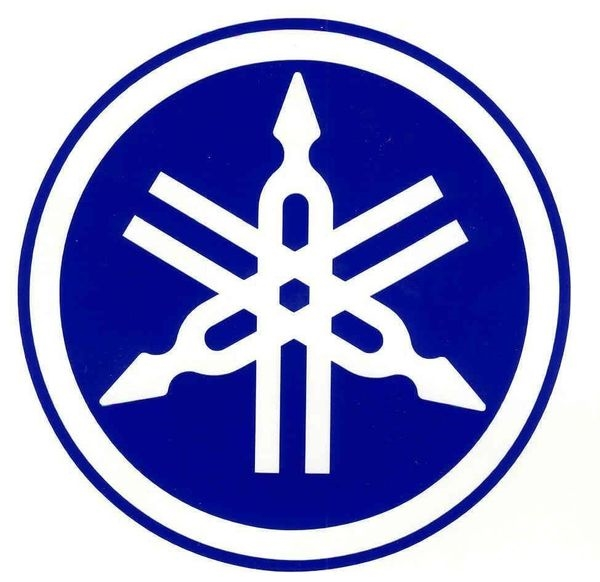 Yamaha Tuning Fork Decal