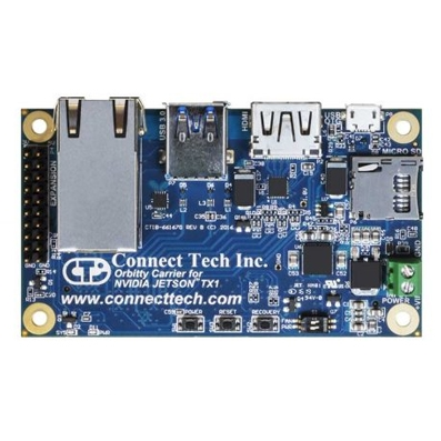 Connect Tech - Orbitty Carrier (ASG003) for NVIDIA Jetson TX2/TX2i/TX1