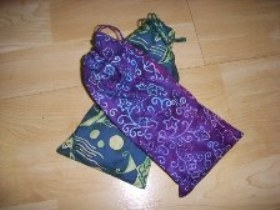 Batik Style Eyebag holder