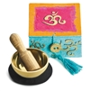 "Mini Meditation Bowl Box: 2"" OM"