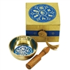"Meditation Bowl Box: 3"" OM Lotus"