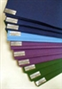 Ten Pack of TRUE BLUE Yoga Sticky Mats, 2mm each (thin) BACK ORDER