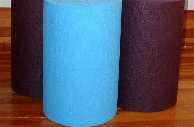 Uncut Roll of Seventeen TRUE BLUE Thick Sticky Mats, 4mm