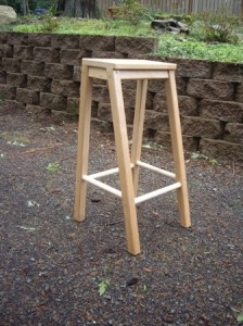 TRUE BLUE Uttanasana Stool * FREE SHIPPING *