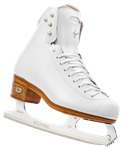 LADIES Riedell 4200 Dance White - Boot Only