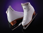LADIES Riedell 910 Flair White - Boot Only