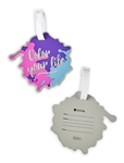 Color Your Life Zuca Bag - Free name Tag - NO FRAME!