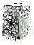 Zebra Zuca Bag - NO FRAME