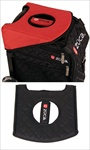 Sport Seat Cushion, Black/Red