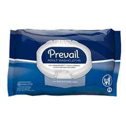 Prevail Adult  WashclothsSoft Pack with Press and Pull Lid