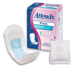 Attends Light Bladder Control Pads
