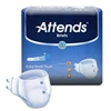 Attends Briefs Extra Small or Youth Adult Diapers