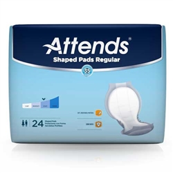 Attends Shaped Pads Regular
