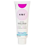DermaRite 4-N-1 No-Rinse Wash Cream