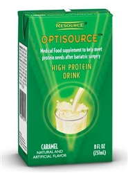 Optisource High Protein Drink 8 oz carton