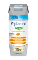 Peptamen with Prebio Vanilla - 250 mL cartons (8.45 ounce)