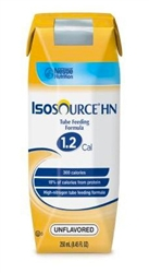 Isosource HN 1.2 Cal Tube Feeding Formula 250 mL carton