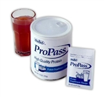 ProPass Protein Powder Cans and Packets