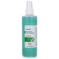 McKesson No-Rinse Perineal Wash 8 oz Pump Spray Bottle