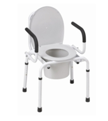 DMI_Drop_Arm_Commode_Chair_250_lb_Weight_Capacity